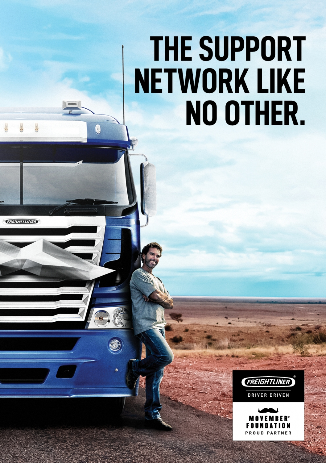 Freightliner - Movember Campaign | Akkomplice