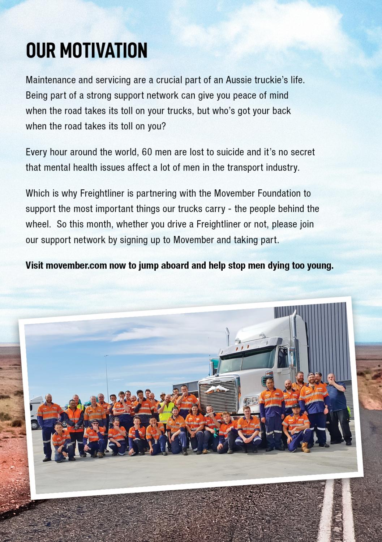 Freightliner - Movember Campaign   Akkomplice