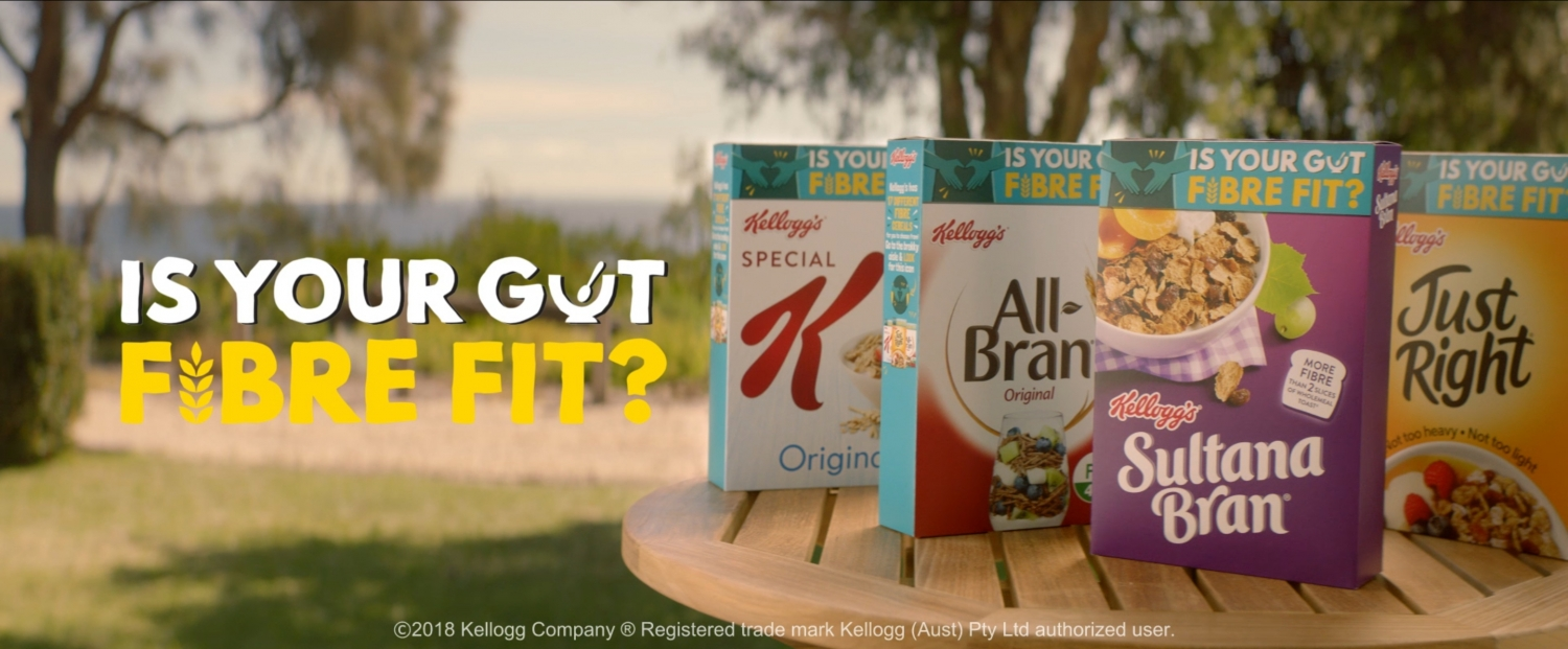 Kellogs - Is your Gut Fibre Fit | Akkomplice