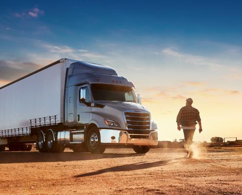 Akkomplice   Freightliner Cascadia - The road ahead